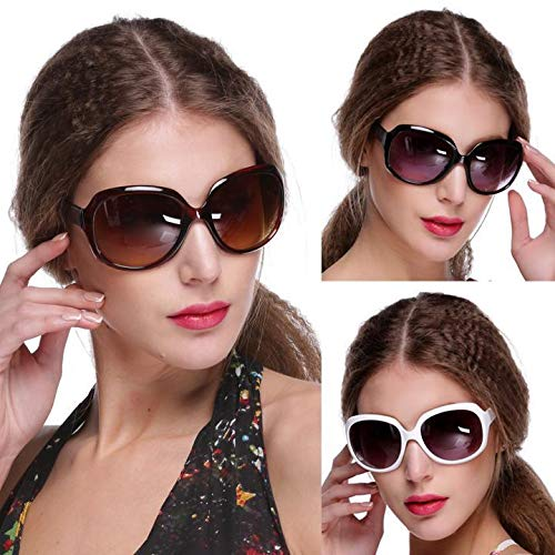 Blueis New Women's Retro Vintage Style Sunglasses Outdoor Driving Eyewear Glasses Sunglasses - Retro Glass Vintage