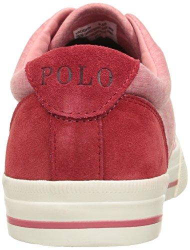 Polo Ralph Lauren Mænds Vaughn Lace-up Sneaker Rød wgqc5DEDS