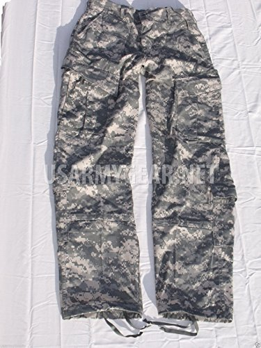 Army Combat Trousers (NEW US Army Military FRACU ACU Camo Combat Uniform PANTS Trousers GI USGI M (Medium/Long))