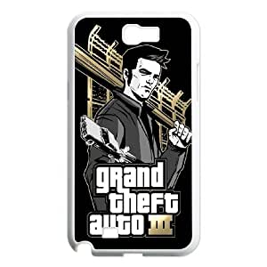 Samsung Galaxy Note 2 N7100 Phone Case Grand Theft Auto C-C628423