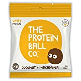 The Protein Ball Co Coconut & Macadamia Balls 45g (Pack of 10)