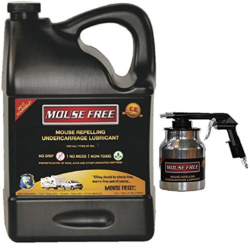 Mouse Free Rv Rodent Repellant - 1 Gallon Size W Spray Appliactor by Mouse Free