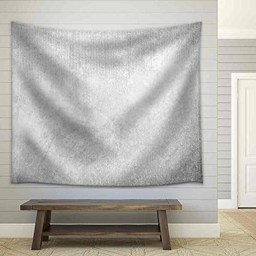 White Concrete Wall Texture Grunge Background Fabric Wall