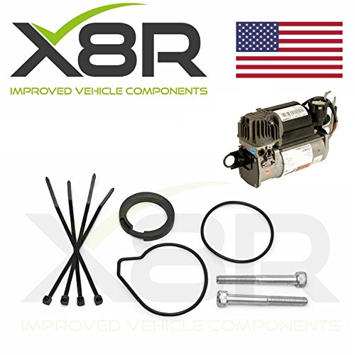 AUDI A8, D3, 4E, Q7/MERCEDES S CLASS & E CLASS/BMW X5, 5 & 7 SERIES/LAND ROVER DISCOVERY 2 & L322/JAGUAR XJ/PORSCHE CAYENNE/VW WABCO AIR SUSPENSION COMPRESSOR REBUILD RESTORE KIT: X8R45
