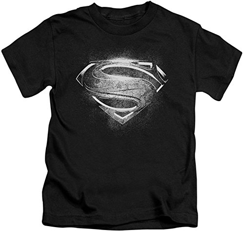 (Youth: Man of Steel - Contrast Symbol Kids T-Shirt Size YL)