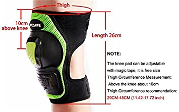 Knee//Elbow Wolfbike Sports Protective Gear Safety Pads Safeguard for Adult Roller Bicycle BMX Bike Skateboard Extreme Sports Impact Outdoor Sports Protector Guards Pads