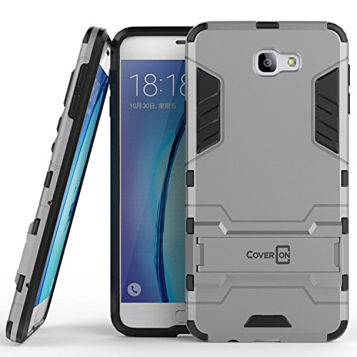 Slim Shockproof Case for Samsung Galaxy On7 (Silver) - 3
