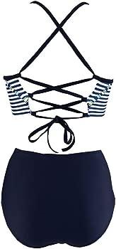 PAOLIAN Trajes de baño de Dos Piezas Bikini Sexy Mujer Verano 2018 ...