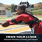 Bas Rutten O2 Trainer - Official Workout Device for Respiratory Training and Lung Muscle Fitness - Portable Breathing Mouthpiece for High Altitude and Power Training