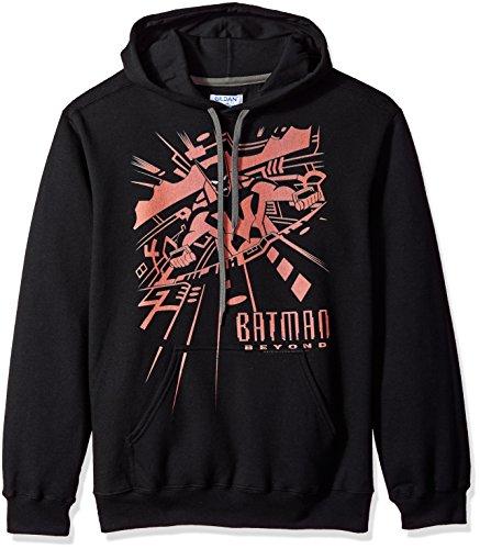 Trevco Men's Batman Beyond At The Controls Hoodie Sweatshirt at Gotham City Store
