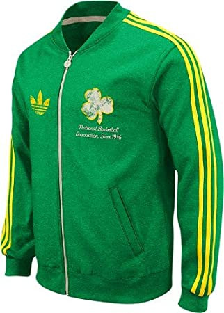 adidas Boston Celtics Throwback Full Zip Vintage Track ...