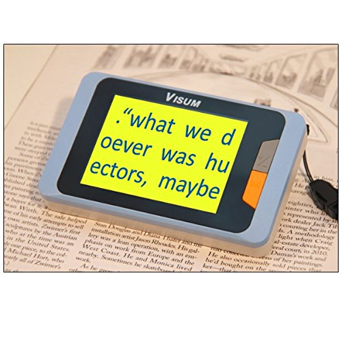 Ecare Handheld Video Magnifier by MaxiAids