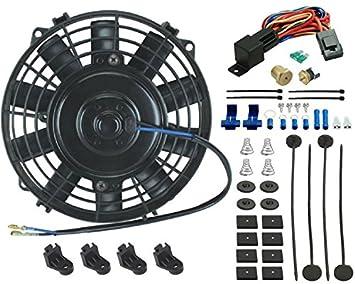 """American V 6 """"inch eléctrico ventilador pequeño Temperatura de aceite 3/8"""""""