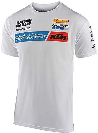 Troy Lee Designs 20 TLD KTM Camisas de Equipo para Hombre: Amazon ...