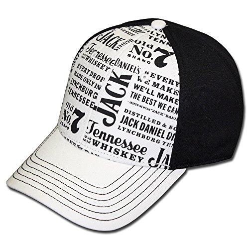 Jack Daniels Sour Mash Whiskey Hat (JD77-111) (Jack Daniels Tennessee Sour Mash Whiskey With Honey)