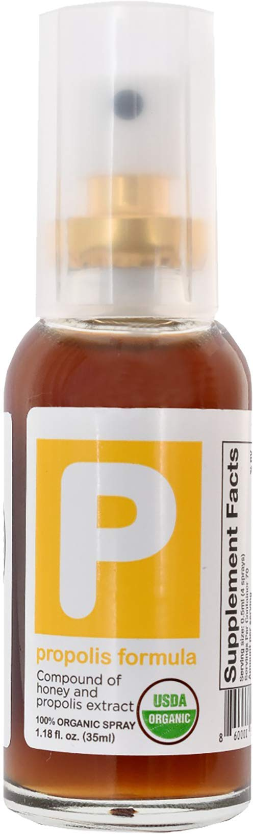 Organic Propolis Formula ThroatSpray ImmuneSupport