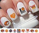 60 Basketball Nail Decals