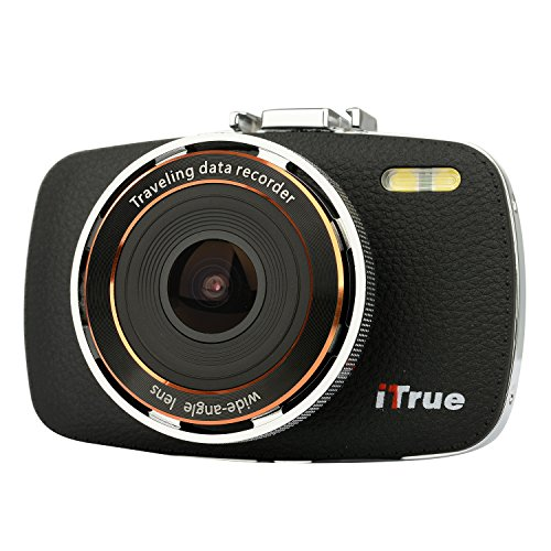 ITrue X3 Dash Cam,2.7Inch LCD,1080P,170 Degree Angle,Night Vision and 8GB Card For Sale