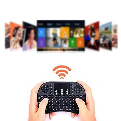 OPSLEA Mini Teclado inalámbrico con Mouse Touchpad Combos Recargables para PC, Pad, Google Android