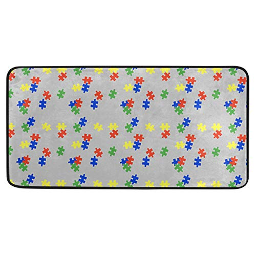Puzzle Autism Awarness Kitchen Mat Anti Fatigue Runners Area Rug Pads 39