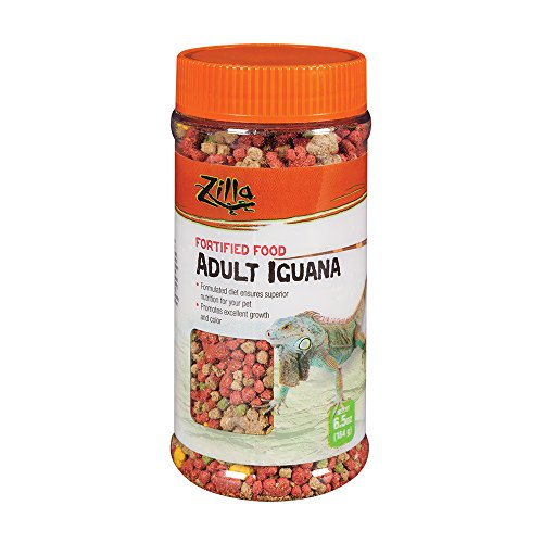 Zilla Reptile Food Adult Iguana Fortified, 6.5-Ounce