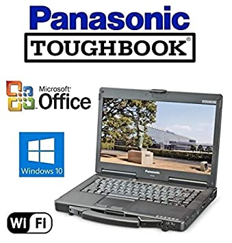 "Refurbished Panasonic CF-53 Toughbook Rugged Laptop - 14"" Touchscreen - i5 2.5GHz"