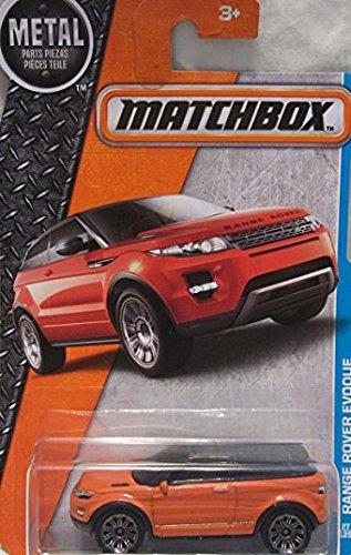 MATCHBOX 2016 MBX Adventure City Range Rover Evoque 27/125 (Range Rover Evoque Toy)