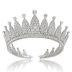Marquise Zircon Gemstone Tiara
