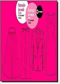Ilustración de moda. Ilustraçao de moda: Plantillas