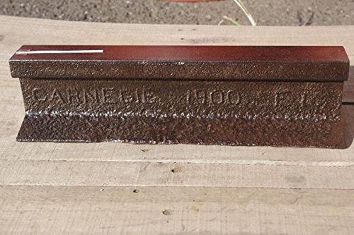 米カーネギー製造30kg国鉄 JR鉄道レール刻印付 40cm切断