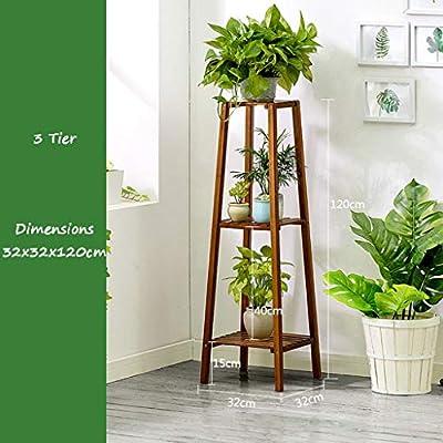 Puesto De Flores,3 niveles Estantes de flores Estante de flores de ...