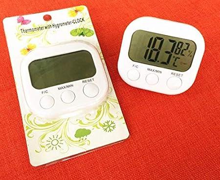 LINSUNG LCD Digital Thermom/ètre Int/érieur Hygrom/ètre Temp/érature Humidit/é Compteur