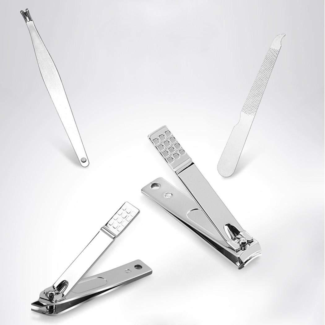 Crofull 8PCS Nail Art Manicure Tools Set Nails Clipper Scissors Manicure Kit Sets & Kits