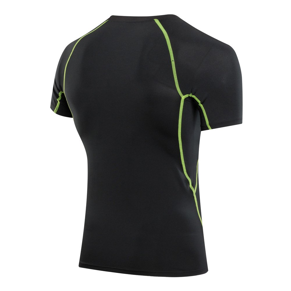 qqer Pro Quick-Drying Clothing for Summer Training Wear Short Sleeves Coat