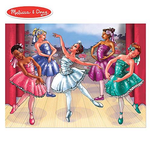 Melissa & Doug's 100 Piece Ballet Recital Jigsaw ()