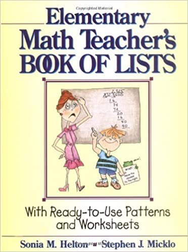 Free Worksheets education com free worksheets : The Elementary Math Teacher's Book of Lists: With Ready-to-Use ...