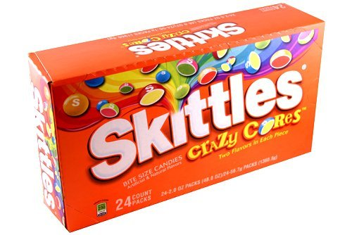 UPC 040000297932, Skittles Crazy Cores, 2-Ounce Boxes (Pack of 24)