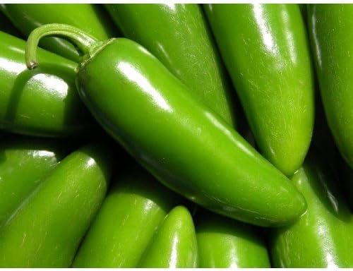50 Seeds All Natural Heirloom Serrano Hot Pepper