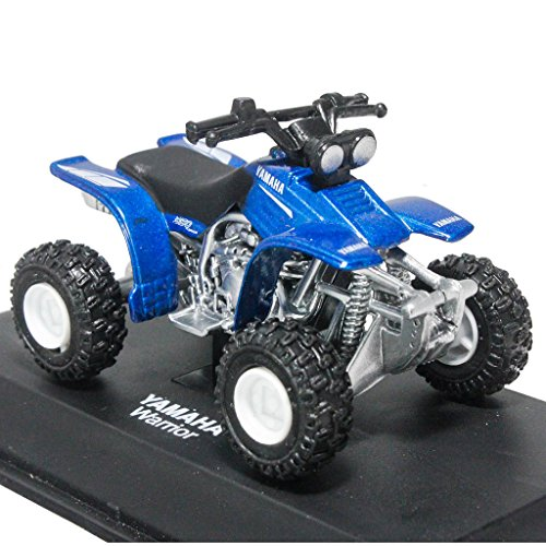 Yamaha Atv Models - NewRay 1:32 Die-cast Yamaha Warrior Sport ATV Blue Color Model Collection Christmas New Gift