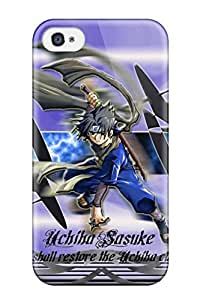 For ipod Protective Case, High Quality For ipod Touch4 Young Sasuke Skin Case Cover