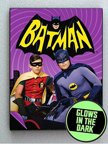 Adam West Batman Glow In The Dark Framed Cool Art Movie Mini ()