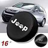 Gplusmotor For Jeep Liberty Cherokee Paws Spare Tire Wheel Cover Protrctor 29 30 31 32 inch