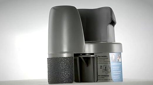 Hopkins RETRO-CHA Go Gear Retro Cupholder, Charcoal