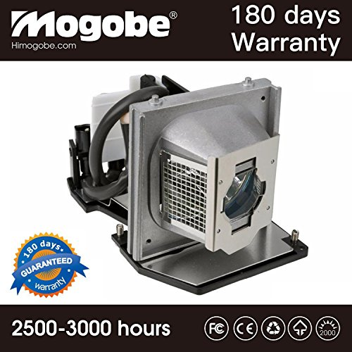 Mogobe For 2400MP Replacement Projector Lamp with Housing for DELL 2400MP Projector by