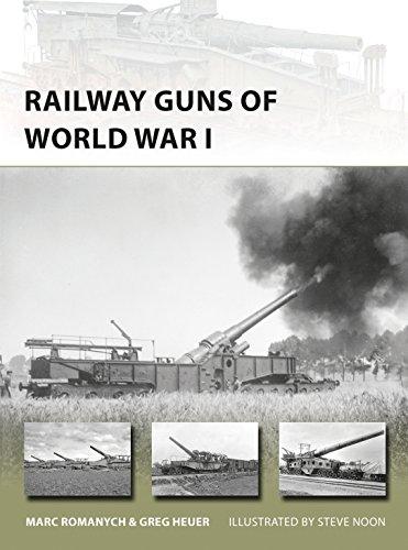 Railway Guns of World War I (New Vanguard Book 249)