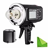 EACHSHOT Godox AD600BM Manual Version HSS 1/8000s 600W GN87 Outdoor Flash Light ( Bowens Mount ) with Lithium Battery 8700mAh for Canon Nikon
