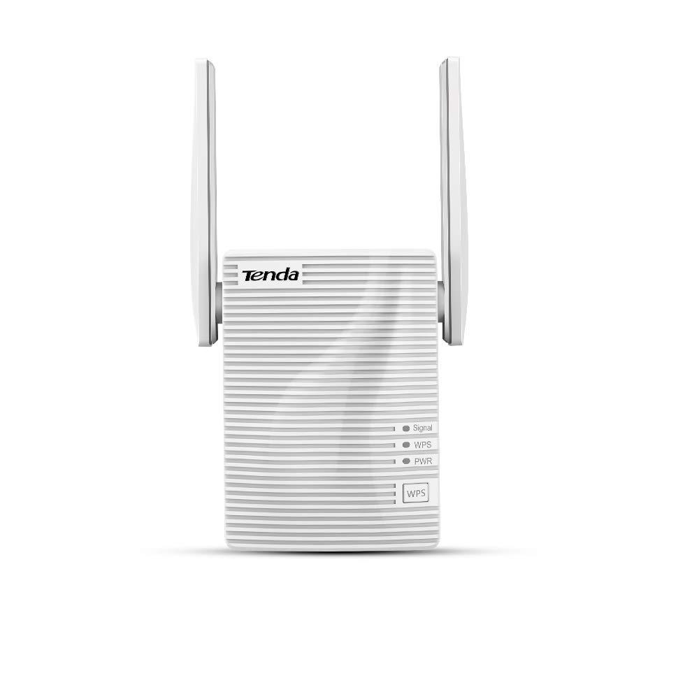 Tenda A15 Repetidor Extensor de Red WiFi (Dual Band 2,5Ghz 5GHz 100Mbps Puerto Fast Ethernet, Doble Antenas): Amazon.es: Electrónica