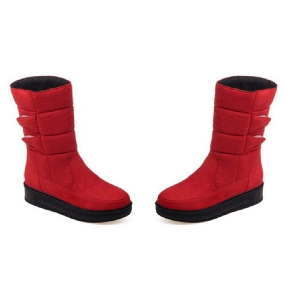 FMWLST Bottes Femmes Bottes d'hiver Imperméables pour Femmes Bottes 34 b82893