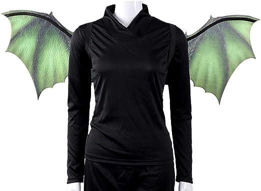 Zay - Set de disfraz de dragón para Halloween, máscara y alas ...