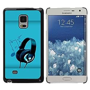 Shell-Star Arte & diseño plástico duro Fundas Cover Cubre Hard Case Cover para Samsung Galaxy Mega 5.8 / i9150 / i9152 ( Sound Colors )